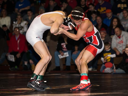 Edinboro redshirt freshman Anthony Rivera spent much
