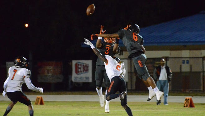 Cocoa John Smith (6) was voted FLORIDA TODAY's Athlete of the Week for the week of Nov. 21-27.