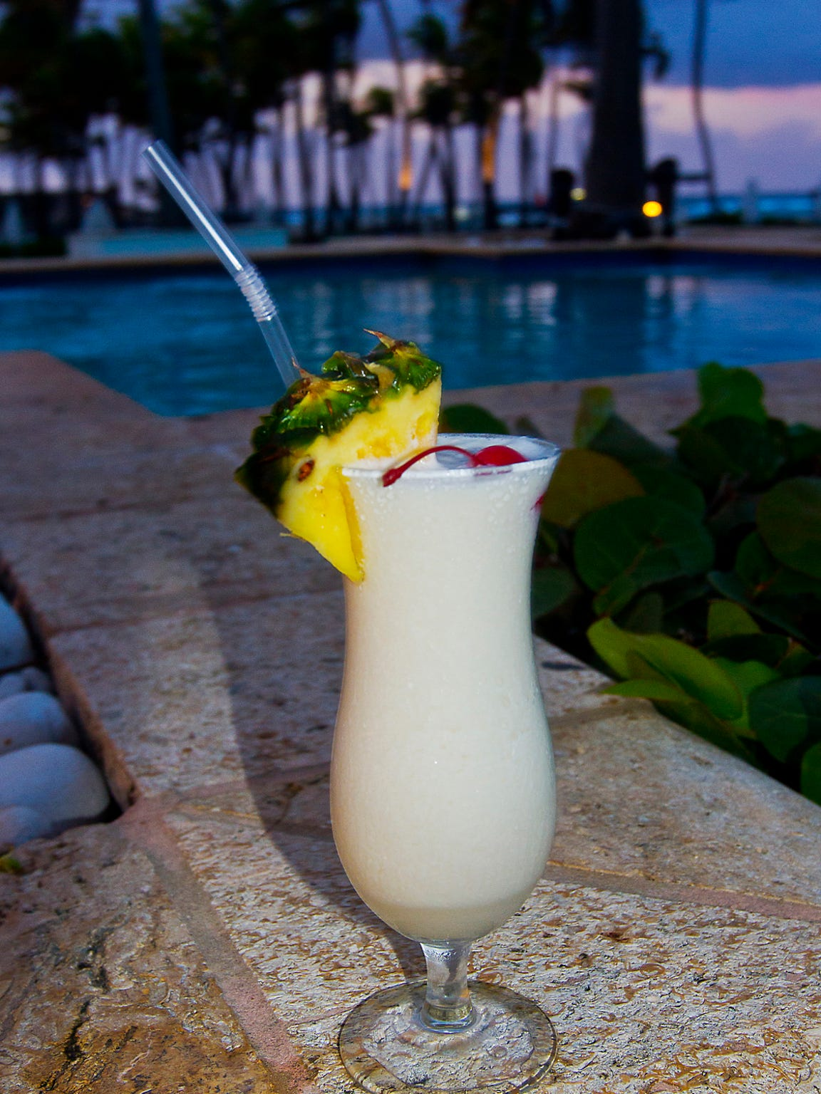 No one seems to dispute this frothy rum-coconut-and-pineapple