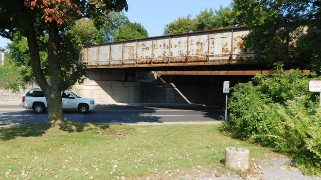 The Herkimer village codes department cited CSX Transportation Inc. for codes violations regarding the railway bridge over Mohawk Street. A lawyer for the firm denied the village's demand that the bridge be cleaned and painted.