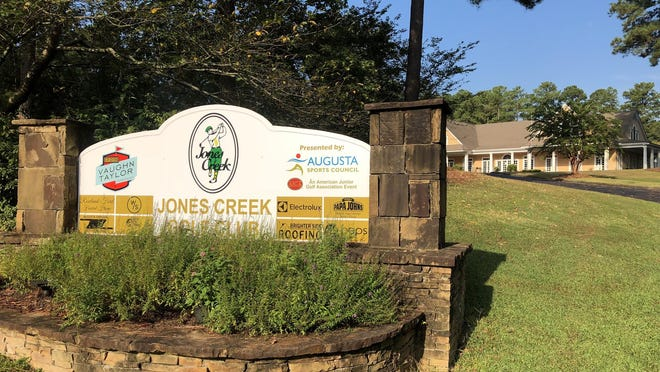 The now-closed Jones Creek Golf Club is on the auction block.