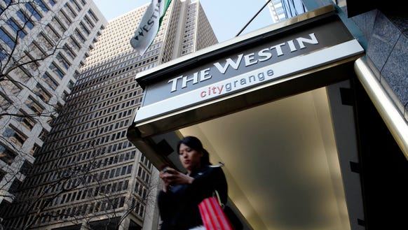 Spend more than $250 at a Westin property using an