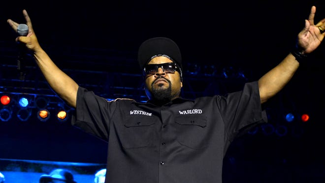 Hip-hop legend Ice Cube performs at a near-capacity Eagles Ballroom at the Rave Saturday.