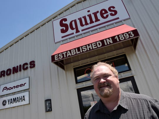 John Squires runs Squires Electronics and Appliances on Philadelphia Avenue, Chambersburg. The business has been in the Squires family since 1893.