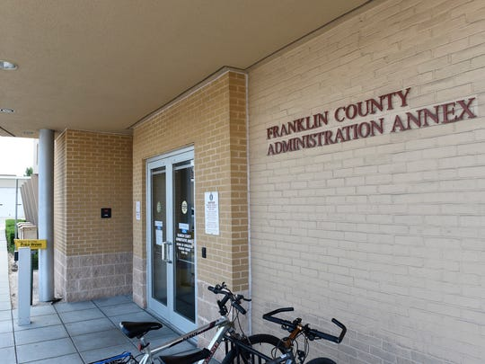 The Franklin County Administration Annex is located on North Second Street, Chambersburg. The building holds various municipal services, as well as the office of Magisterial District Judge Glenn Manns.
