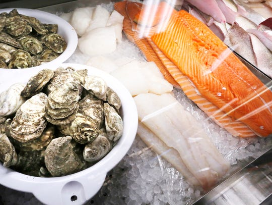 Fresh oysters, cod, Ora King salmon and walleye Friday,