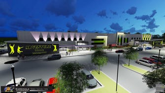 Rendering of the $21 million Adventure Sports & Entertainment project planned for Jackson.