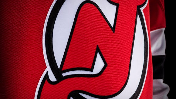 A close-up of the new material on the jersey.