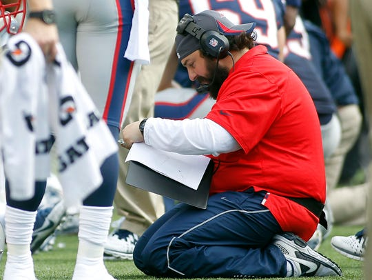 Matt Patricia has led a top 10 scoring defense in every season since becoming Patriots defensive coordinator in 2012.