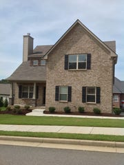 The exterior of Ole South's model home in Western Woods. Homes in the new Cumberland Estates subdivision are similar.