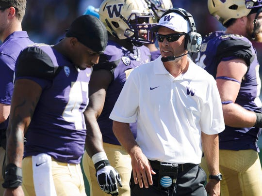 Washington coach Chris Petersen and his staff believe