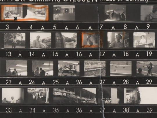 35-millimeter film artist Ralph Steadman took at the