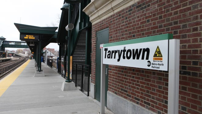 Metro-North's Tarrytown station is one of the busiest station on the Hudson Line. Some 2,800 trips are taken from there each weekday.