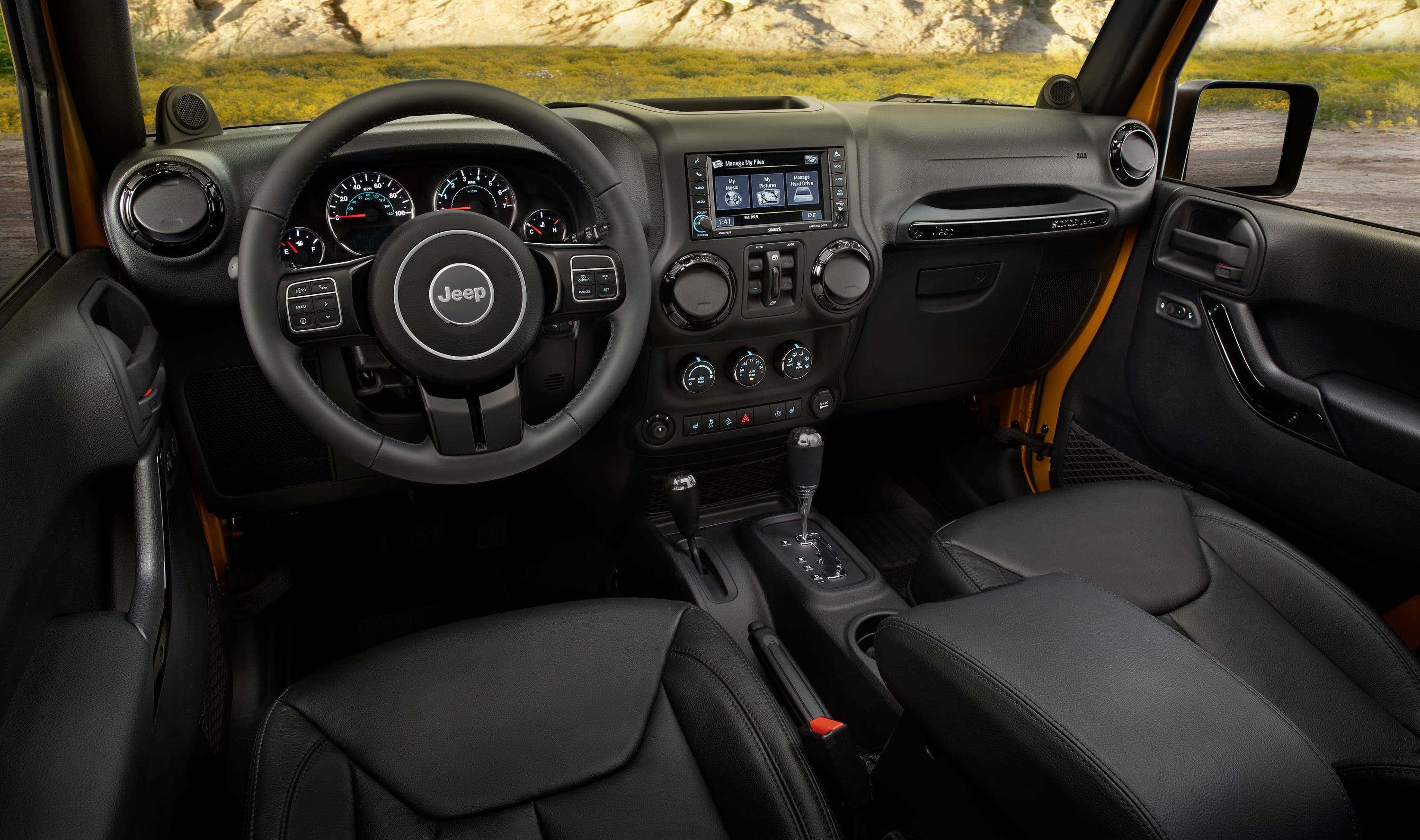 2014 Jeep Wrangler Unlimited Interior