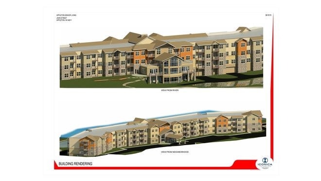 Proposed Eagle Point development at Foremost site in Appleton.