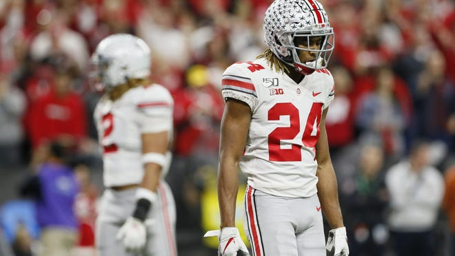 Ohio State cornerback Shaun Wade was the only returning starter in the Ohio State secondary.
