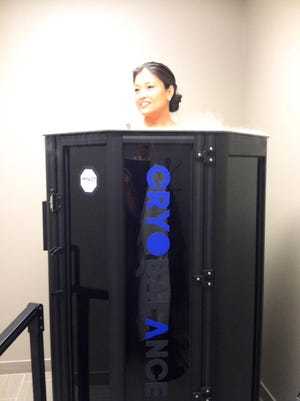 Michigan's first cryotherapy chamber has opened in Birmingham.