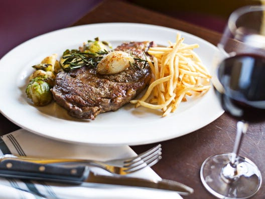 Is a ribeye steak as harmful to your health as smoking?
