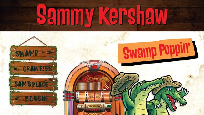 """Country singer Sammy Kershaw gathers south Louisiana music legends on his latest CD, """"Swamp Poppin'."""""""
