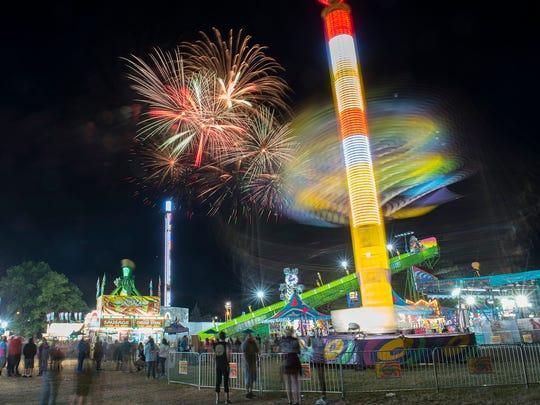 Spree 2018 fireworks.