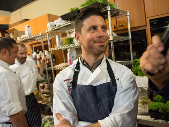 Chef Josh Deri of Blend Catering.