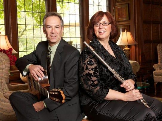 The AronBerkner Duo consists of guitarist Stephen Aron