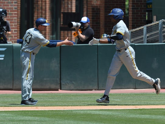Florida Gulf Coast upends Michigan, 10-6, Friday in
