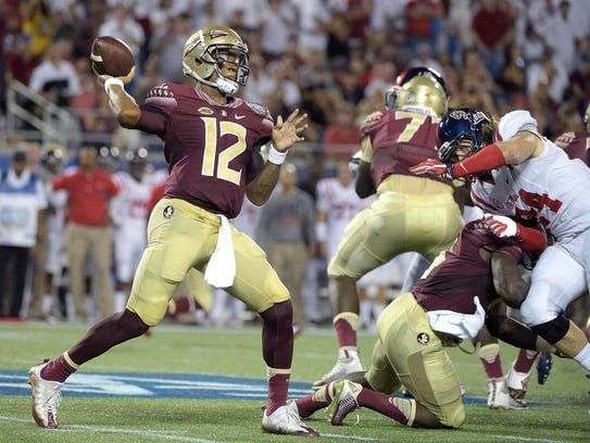 Deondre Francois threw for 3,350 yards as a freshman