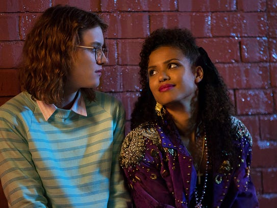Mackenzie Davis as Yorkie and Gugu Mbatha-Raw as Kelly