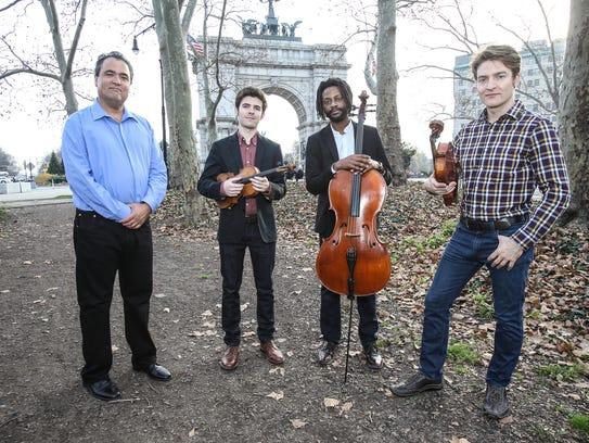 Turtle Island String Quartet will perform Feb. 16 at