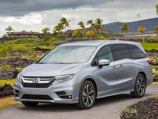 Third place: 2018 Honda Odyssey