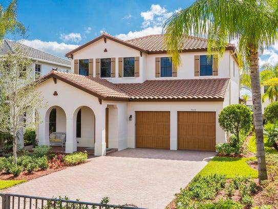 The Balboa by CC Homes in Maple Ridge at Ave Maria.
