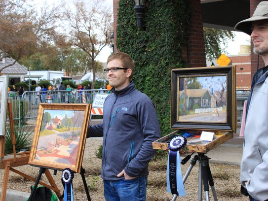 The Glendale Plein Air Competition challenges artists