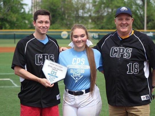 Walnut Hills Reiley Schmidt won the softball home run