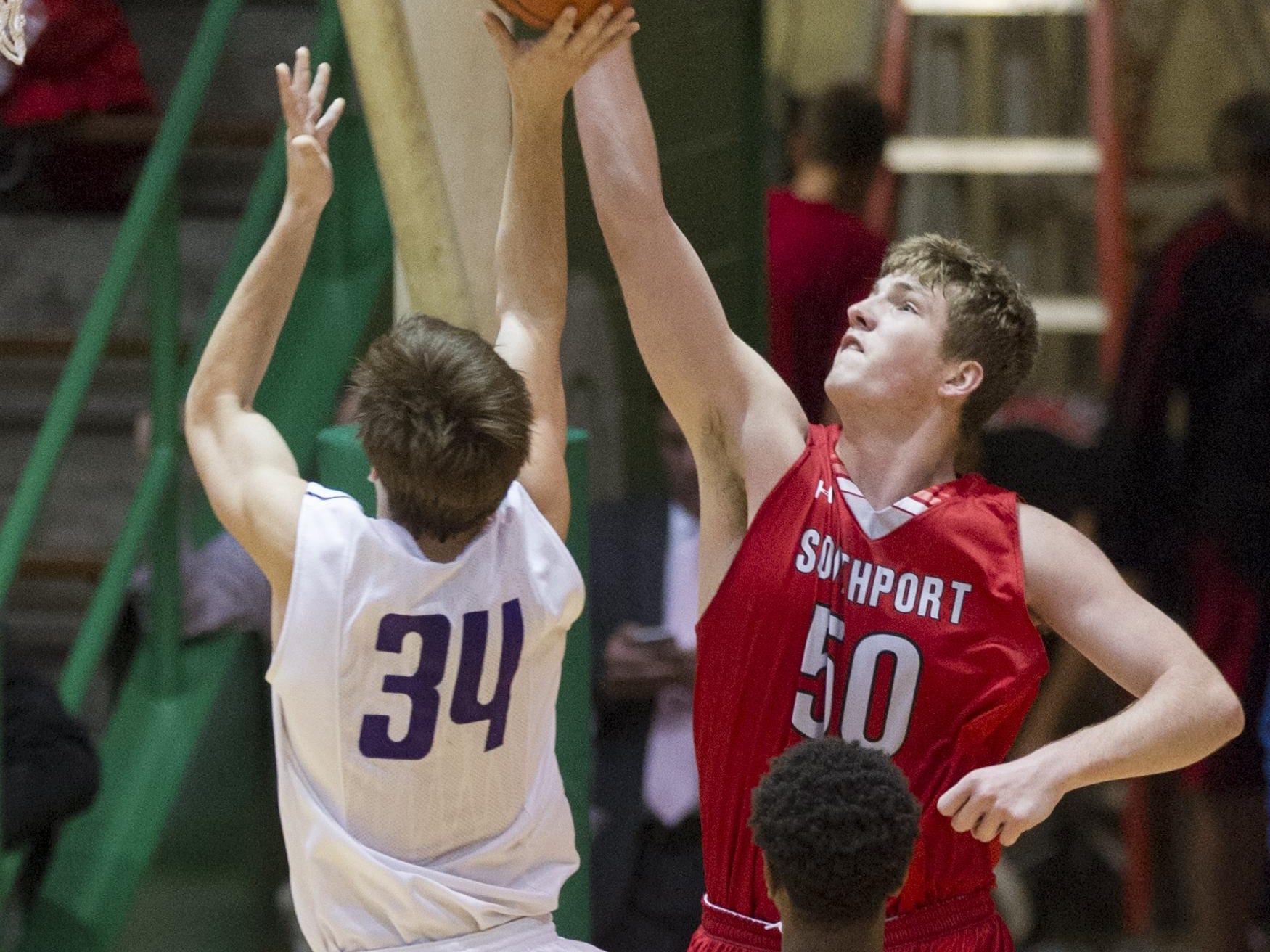 Big man Joey Brunk will lead a strong Southport team.