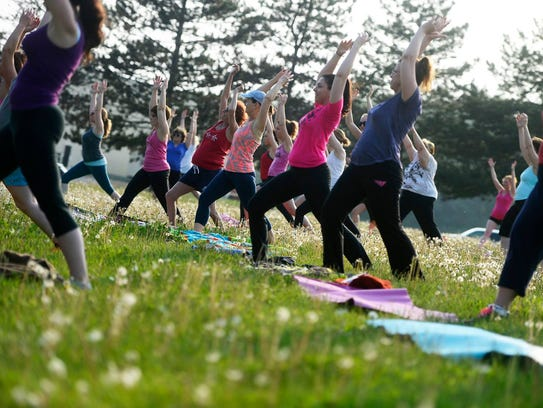 No Sweat in the Park, a free fitness class, runs every