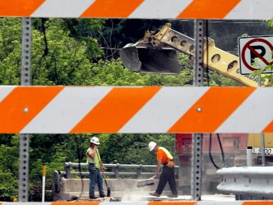 Watch for road work this week on Interstate 83 and Route 30.