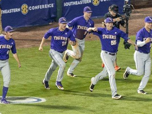 SEC Baseball Tournament 2016 - Game 8 Florida vs LSU