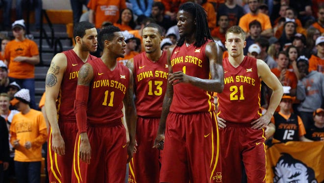 Iowa State checked its hotel in Louisville Tuesday afternoon with king-sized appetites and high expectations to match.