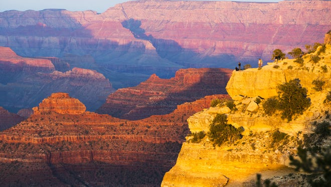 Efforts to protect the area around the Grand Canyon from mining face strong opposition, particularly from Republicans who represent Arizona in Washington and at the state Capitol.