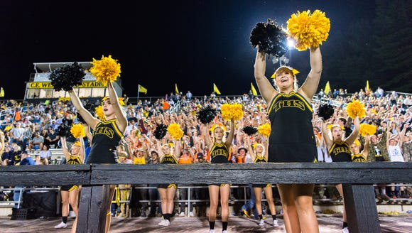 A scene from last year's Pisgah-Tuscola football game.