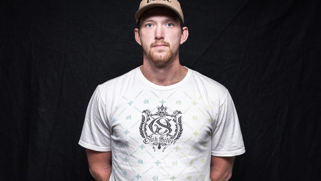 Jason Tippett, a veteran of the Marines who served from 2004-2008.