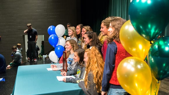 Early signing day begins Wednesday, and several standout athletes from across WNC will be signing NLI's to play college sports.