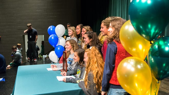 Early signing day begins Wednesday, and several standout athletesfrom across WNC will be signing NLI's to play college sports.