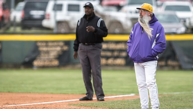 Tuscola high school hosted North Henderson for their baseball game Friday, March 9, 2018. North Henderson defeated Tuscola 5-2 in 12 innings.