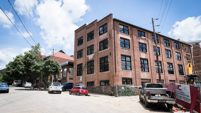 One of the buildings that was formerly part of the foundry that manufactured steel for the Biltmore Estate and other Asheville buildings will become the Foundry Hotel and will include a restaurant from John Fleer.