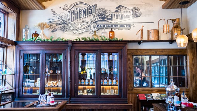 Apothecary Beverage Company opened a tasting room for its beverage label, The Chemist, on Coxe Avenue on Asheville's South Slope.
