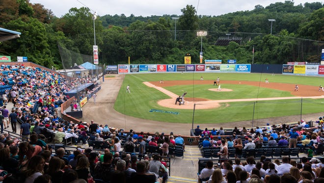 The Asheville Tourists released their 2021 schedule on Thursday, and the season opener is set for May 4. [ASHEVILLE CITIZEN-TIMES FILE PHOTO]