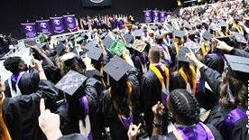 When Tarleton holds its graduation at Memorial Stadium this August, the commencement will include 34 current or former Texan student-athletes.