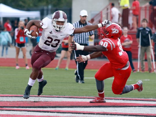 Lawrence Central's Gerrid Doaks was a workhorse for the Bears.